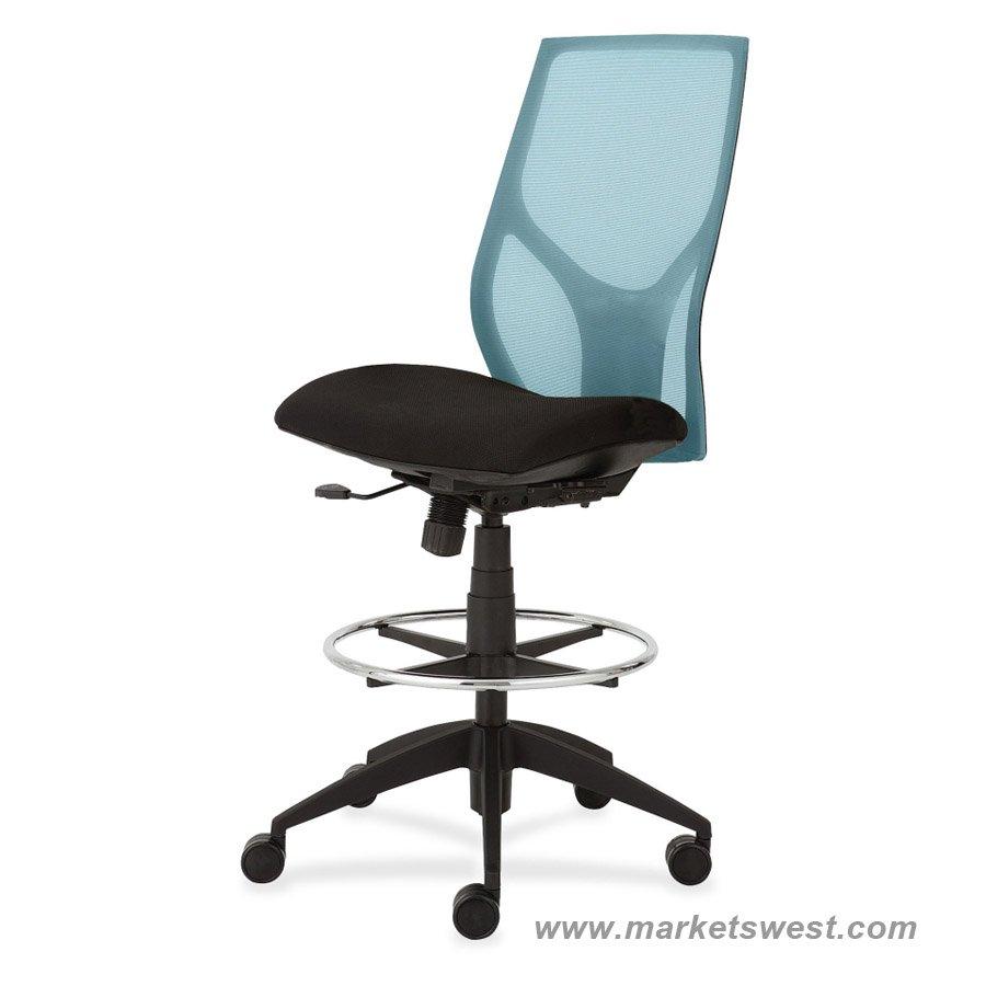 24 Hour Drafting Chairs Studio Designs Black Maxima Ii