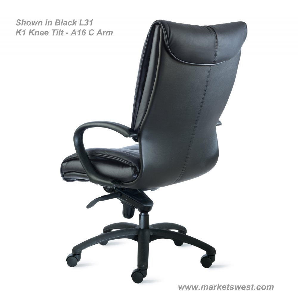 High back fabric office chair - Axis High Back Leather Or Fabric Executive Conference Chair