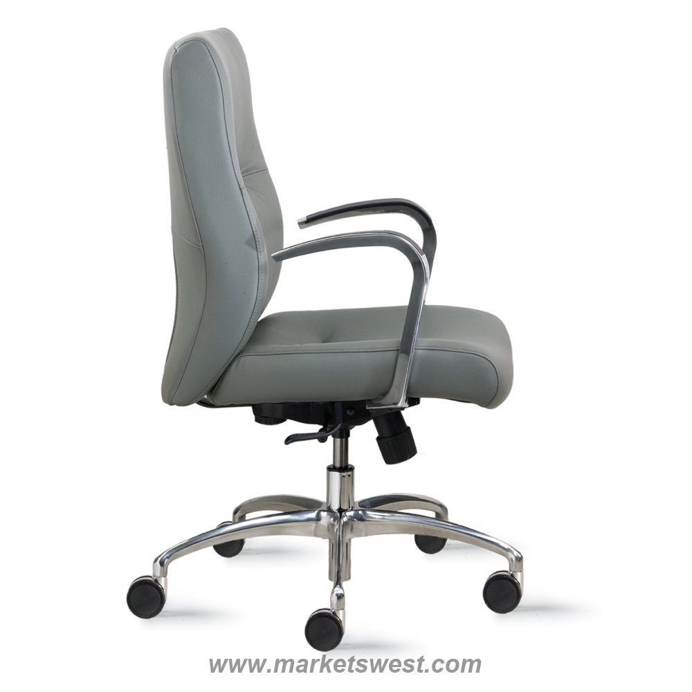 cortina mid back conference or executive leather or fabric