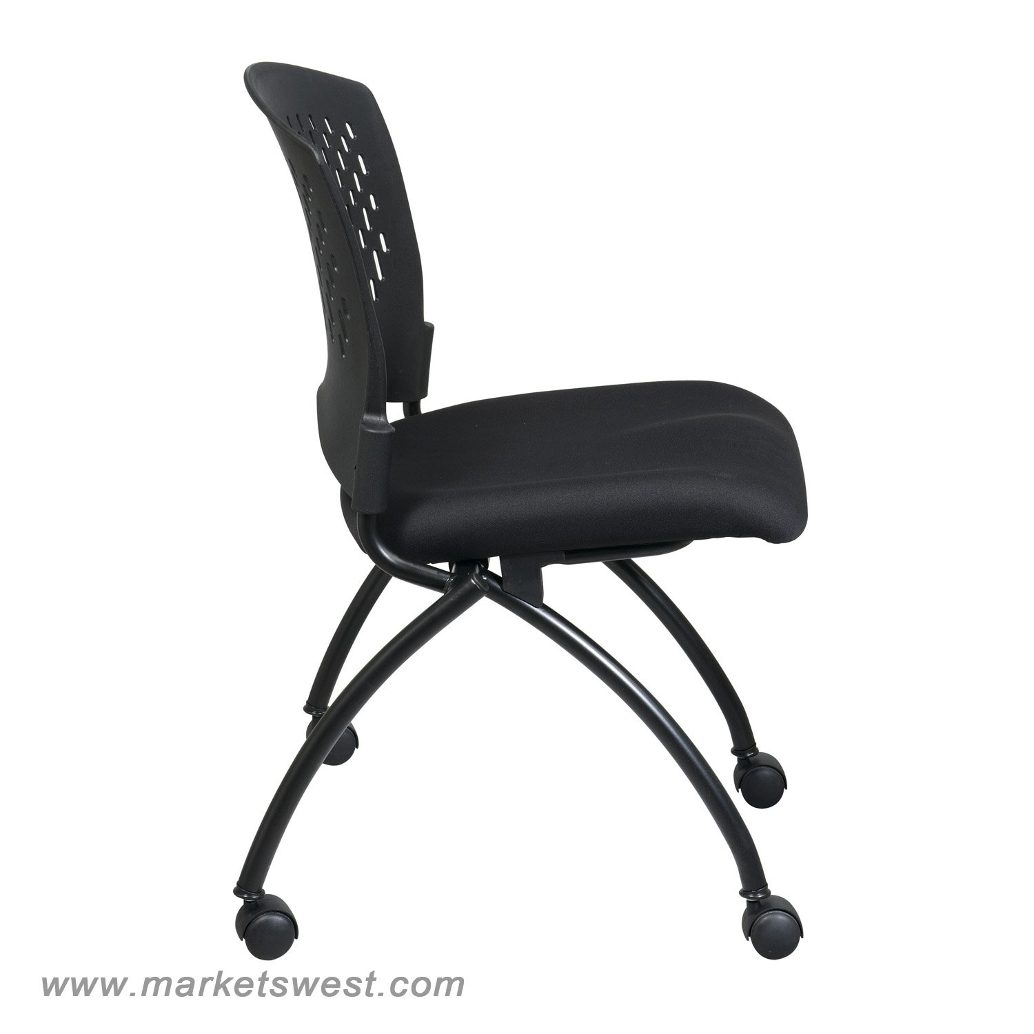Deluxe Folding Chair with Ventilated Back No Arms