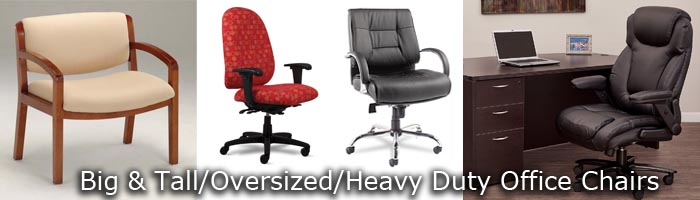 big and tall chairs - Heavy Duty Office Chairs