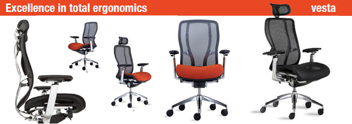 office chairs phoenix. 9 to 5 vesta high-back executive-conference-task mesh chair - phoenix office chairs