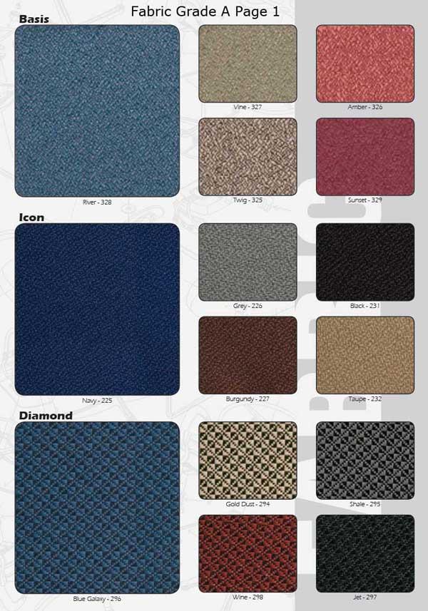 A Grade Fabric Choices Pg1