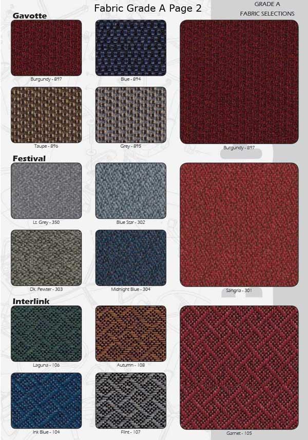A Grade Fabric Choices Pg2