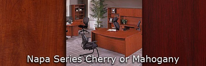 Super Napa Series Cherry Or Mahogany Markets West Office Home Interior And Landscaping Ologienasavecom