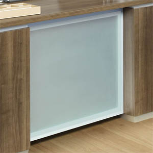 Pimlico Frosted Glass Option