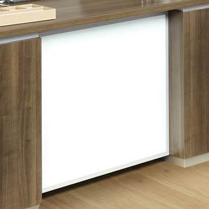 Pimlico White Glass Option