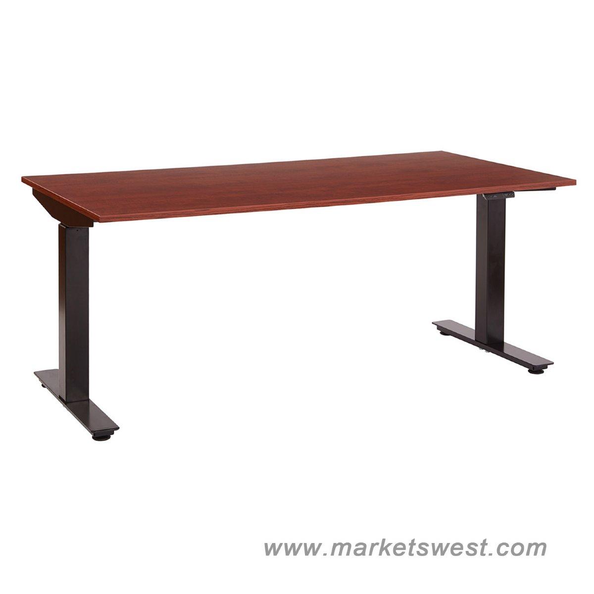 ascend electric adjustable height table desk with 30 x 60. Black Bedroom Furniture Sets. Home Design Ideas