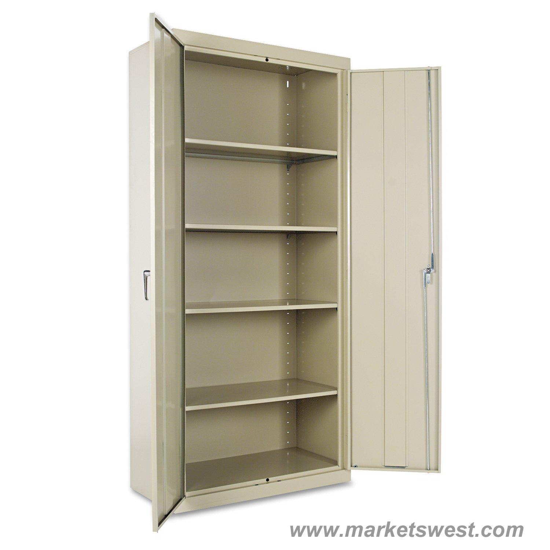 Alera heavy duty welded metal storage cabinet