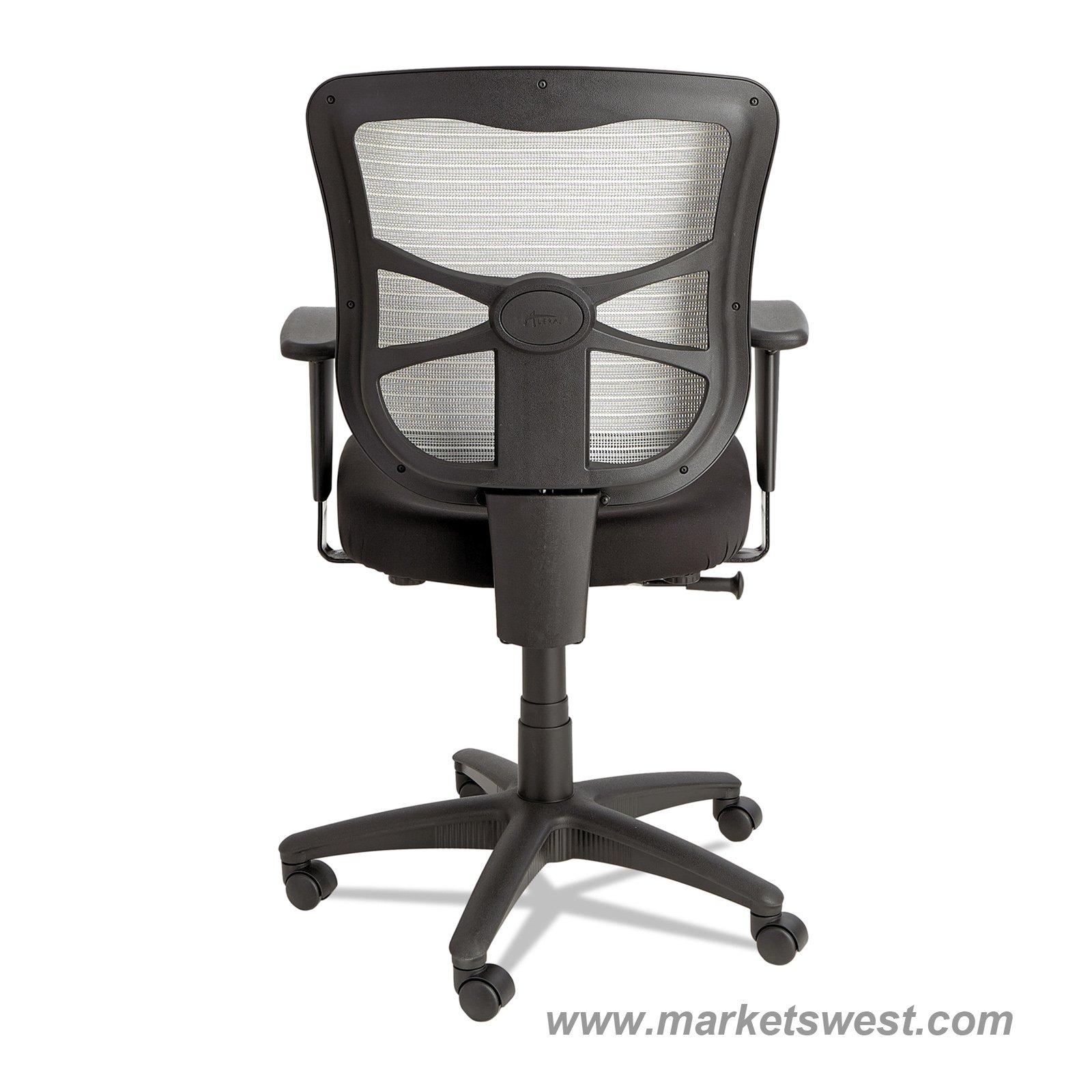 Elusion Mesh Mid Back Swivel Tilt Chair Black Amp White