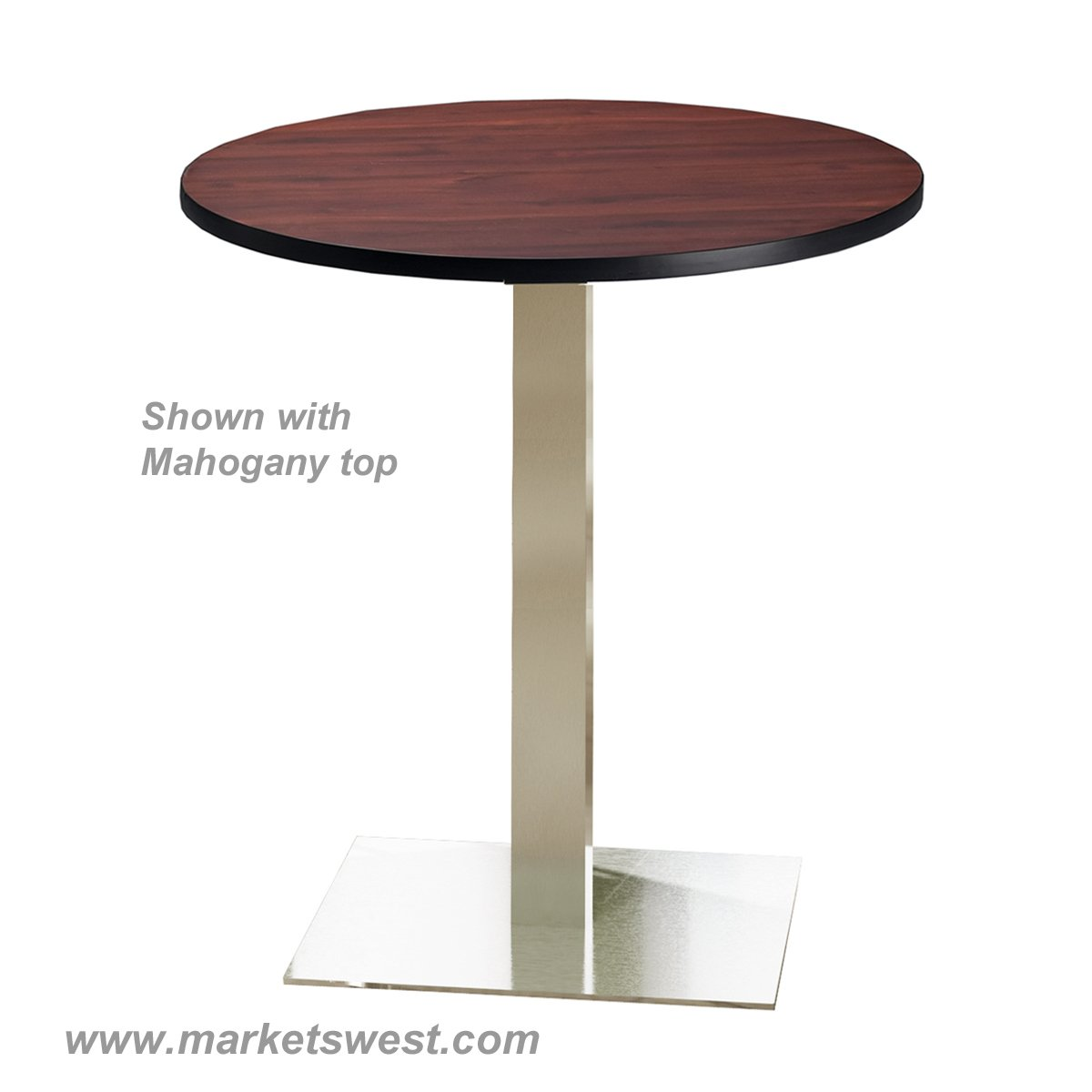"""Bistro Table Bar Height Round Top 36"""""""