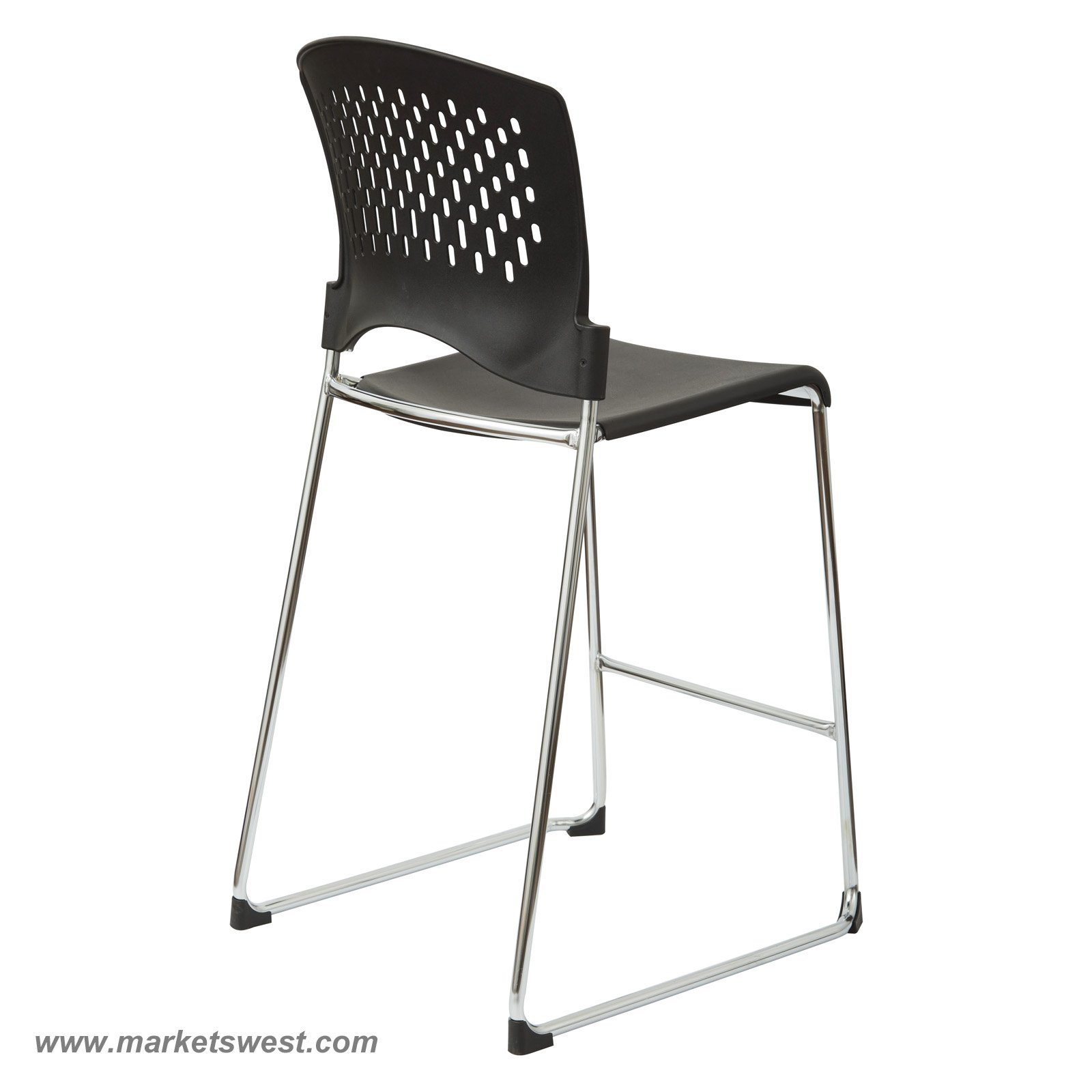 sc 1 st  Markets West Office Furniture & Tall Stacking Chair/Stool with Plastic Seat and Back (Chrome Frame) islam-shia.org