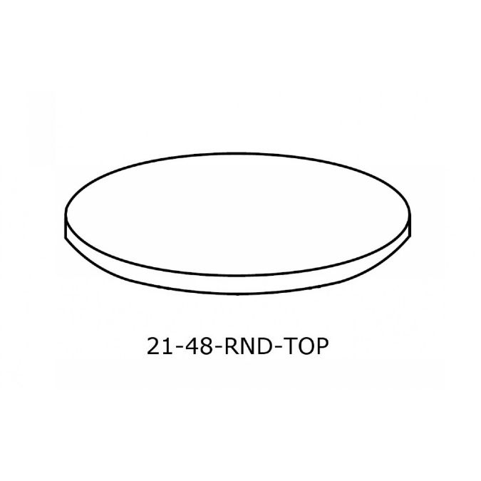 Round Conference Table Top Inch - 48 inch round conference table