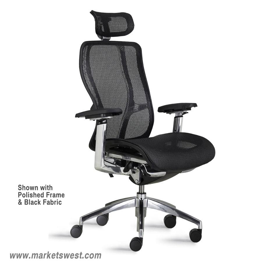 Executive Chair High Back - Vesta high back executive conference task mesh chair