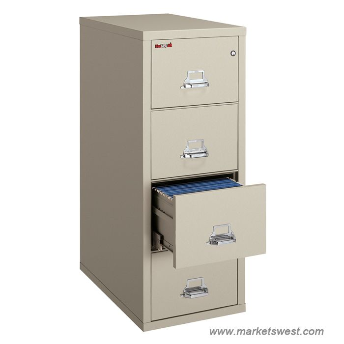 Fireking Turtle Insulated Fireproof Vertical Filing Cabinet 2