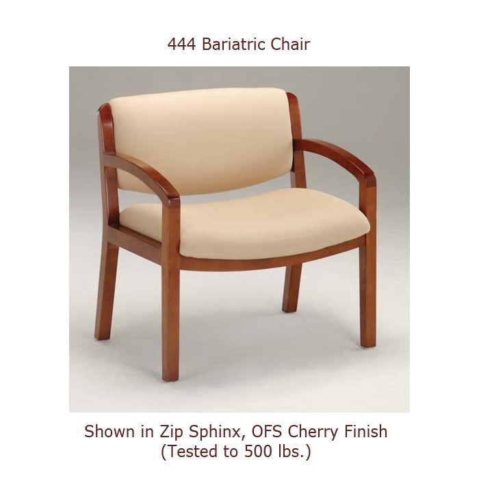 Oci Trilogy 444 Bariatric Guest Reception Chair 600lb