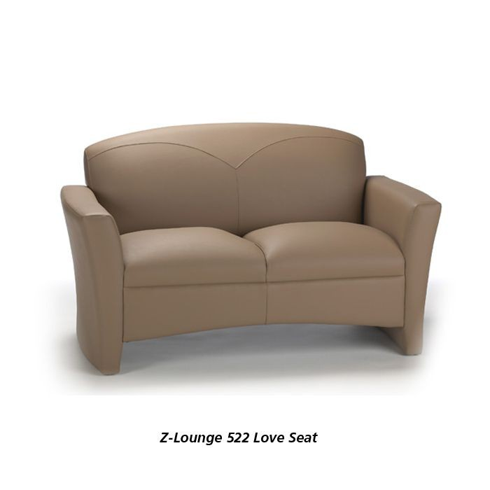 Z Lounge 522 Leather Love Seat