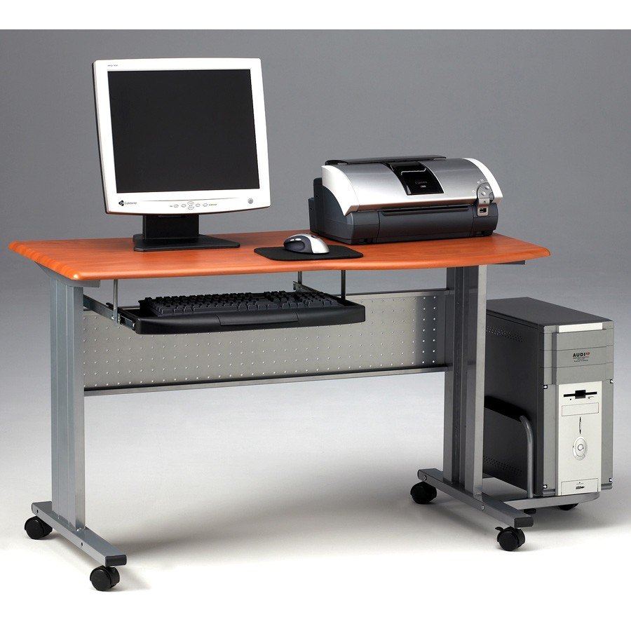 Mobile computer worktable for Mobile furniture