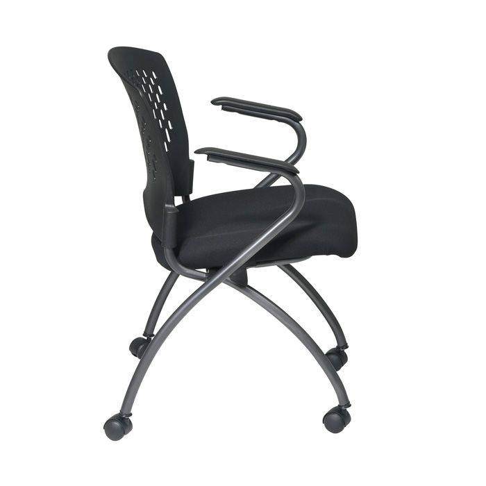 Deluxe Folding Chair with Ventilated Back With Arms
