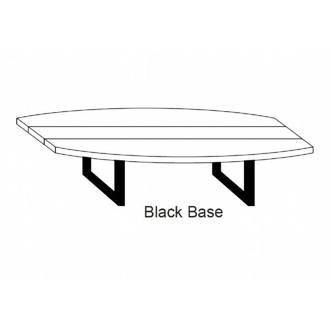 Boat Shape Conference Table Inch X Inch - 144 conference table