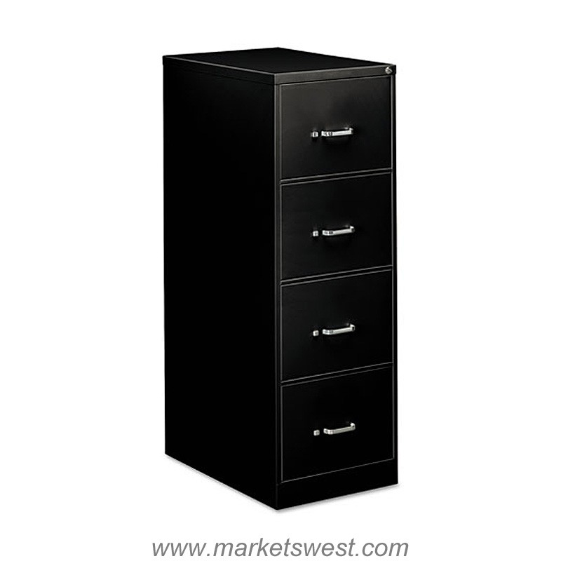Four Drawer Economy Vertical Legal Size File 18 1 4w X 26