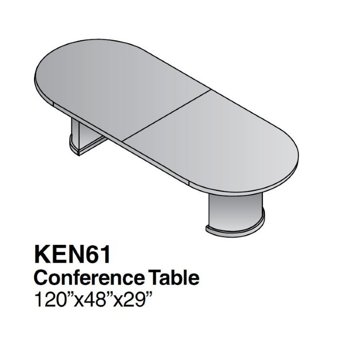 Ft Racetrack Conference TableWood VeneerMahogany Or Light Cherry - Wood veneer conference table