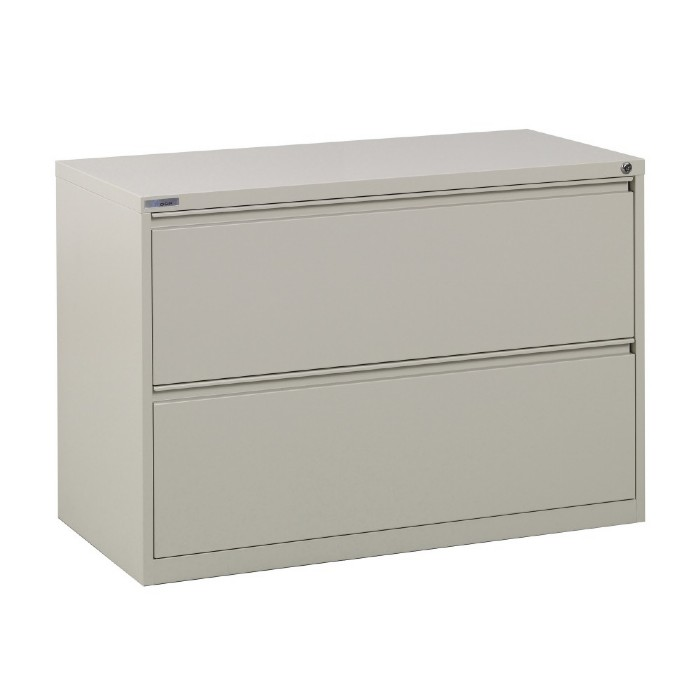 Lateral File - 2 Drawer 42 inch Metal