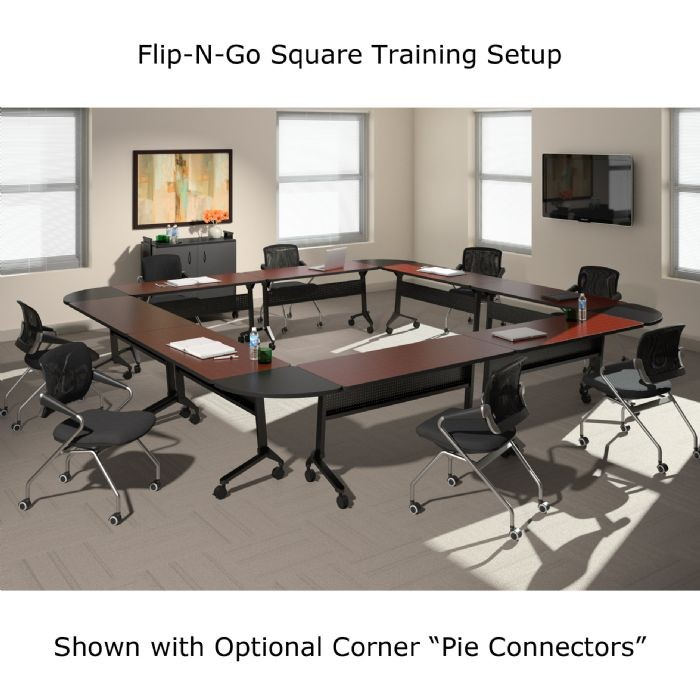 Mayline Flip N Go Training Tables 24 X 72