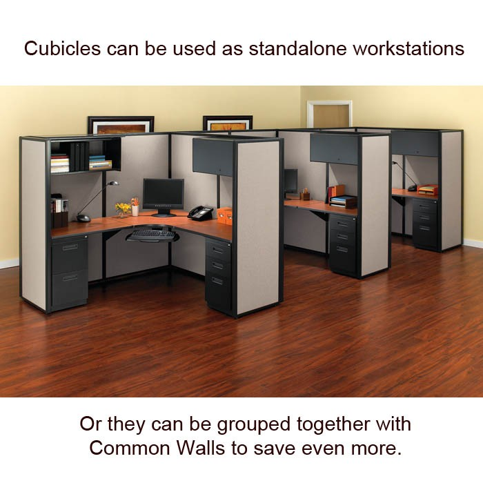 Herman Miller Refurbished Cubicles