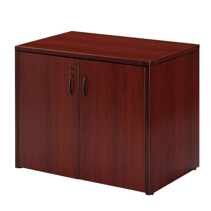 Mahogany Cabinets: 2-Door Storage Cabinet 36X22, Cherry Or Mahogany