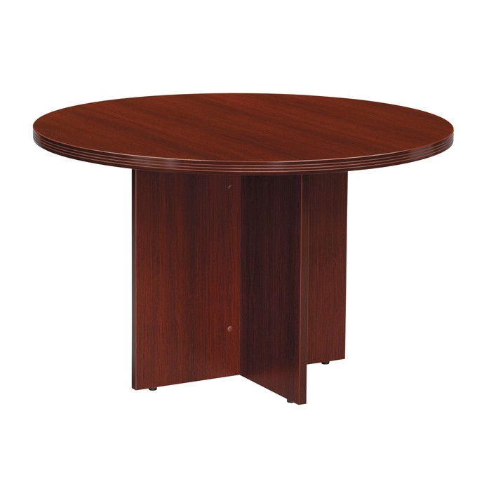 42 inch round conference table  cherry or mahogany
