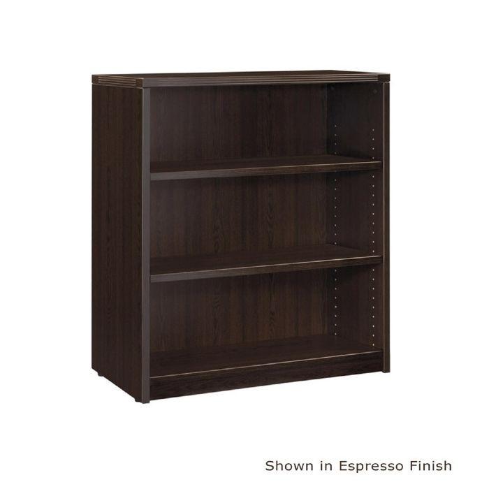 """3shelf Bookcase, 36""""x14""""x42""""h, Espresso Or Urban Laminate"""