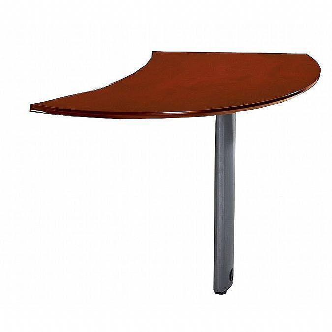 napoli curved desk extension left