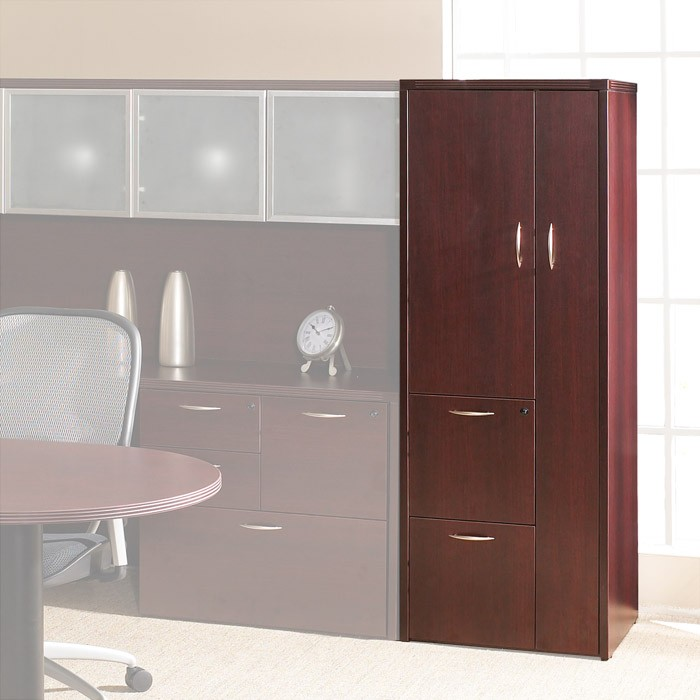 Storage Cabinet W Wardrobe