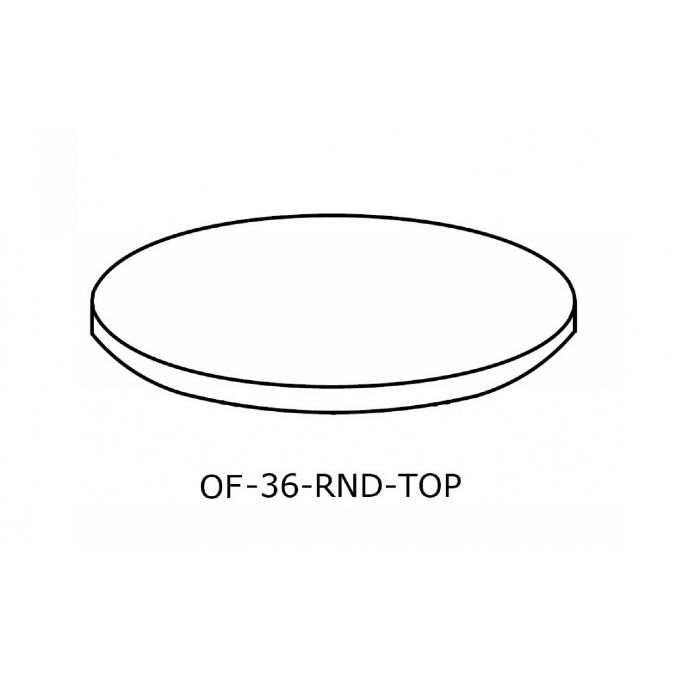 OFFICE Round Conference Table Top Inch - 36 inch round conference table