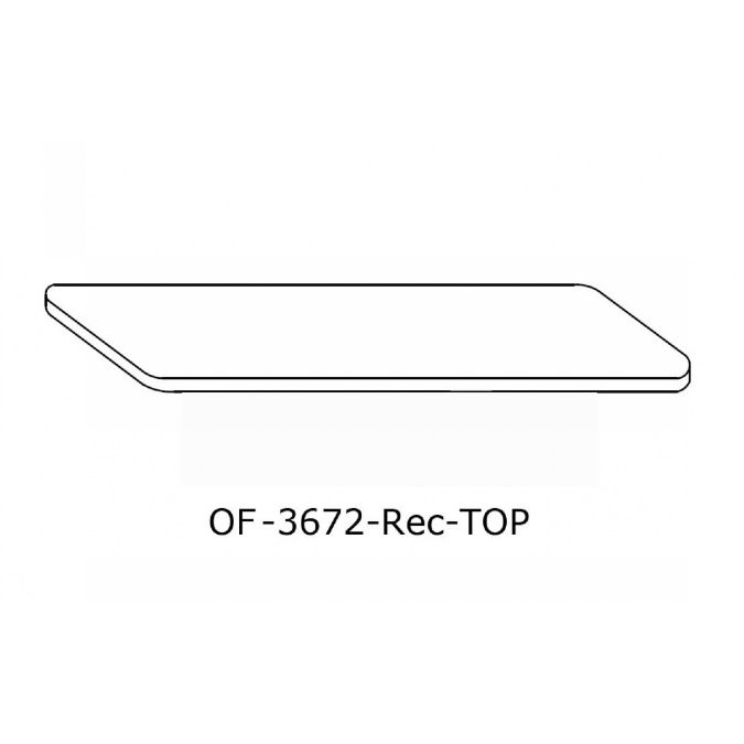 OFFICE Rectangular Conference Table Top Inch X Inch - 72 inch conference table