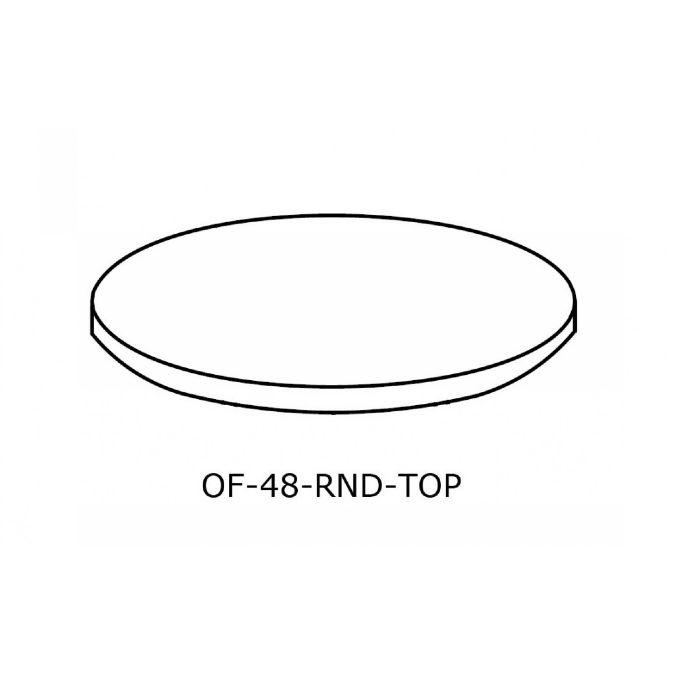 OFFICE Round Conference Table Top Inch - 48 inch round office table