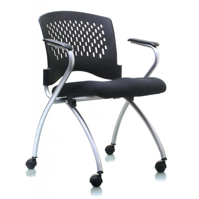 Ergo Flip Seat Nesting Guest Chair
