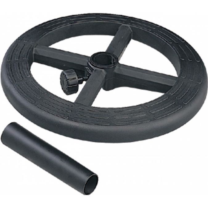 Stool Kit With Adjustable 19 Quot Diameter Black Nylon Foot Ring