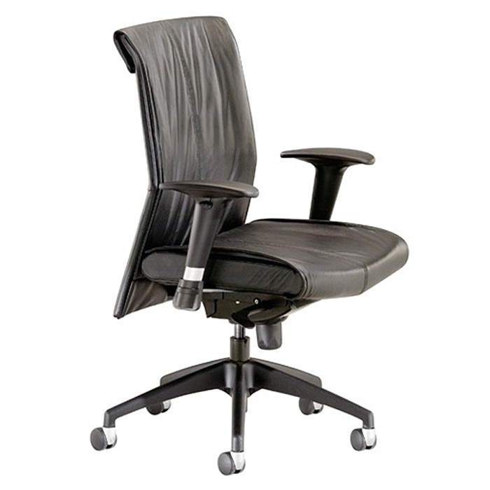 T-45.jpg  sc 1 st  Markets West Office Furniture & Touch Series Midback Synchro Leather Task Chair