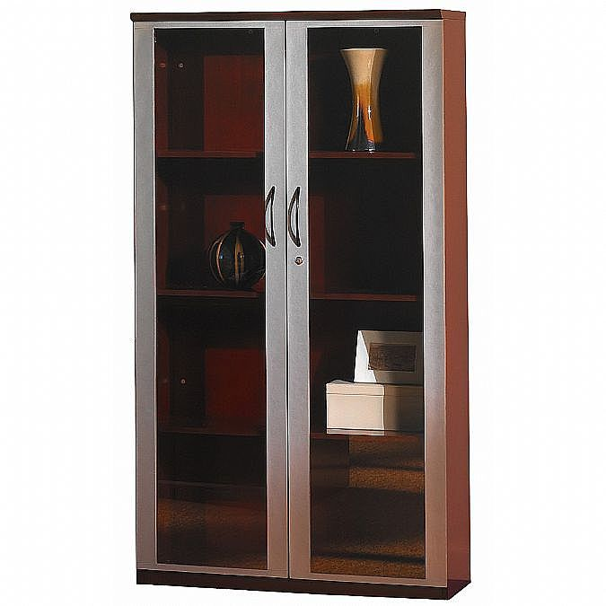 Napoli 68 Inch Wall Cabinet With Glass Doors