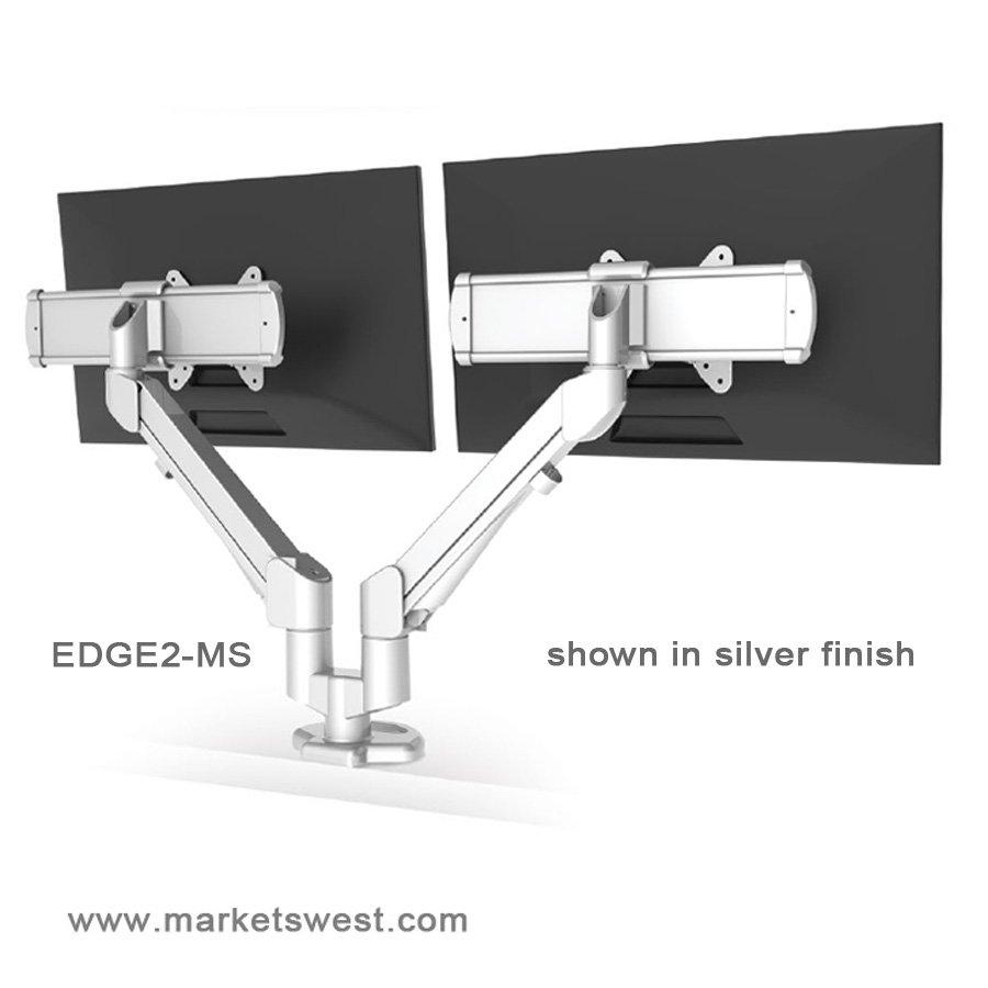 Esi Edge2 Articulating Flat Screen Dual Monitor Arm
