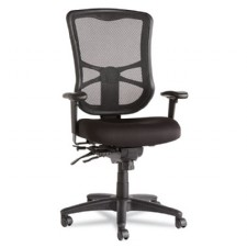 Elusion Mesh High-Back Multifunction Chair, Black