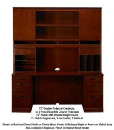 veneer for kitchen cabinets sorrento series typical 21 credenza hutch unit 6756