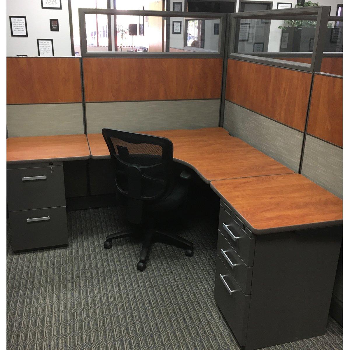 custom re manufactured herman miller modular office furniture systems - Modular Office Furniture