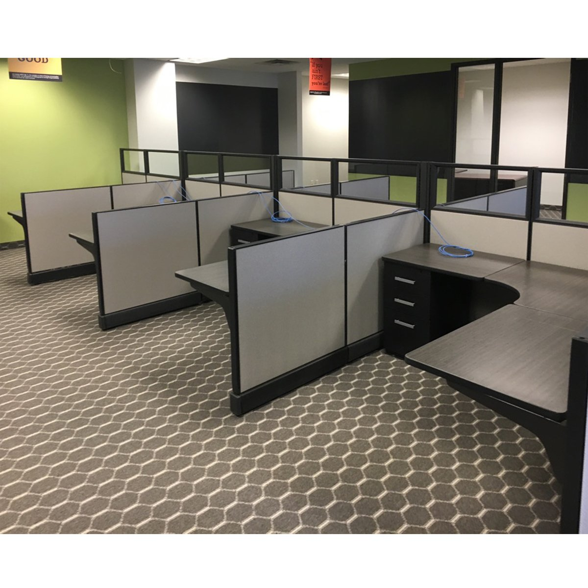 custom re manufactured herman miller modular office furniture systems