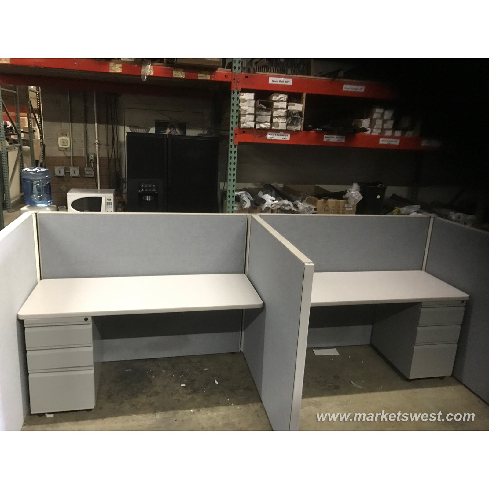 Herman Miller 4 X5 Cubicles Telemarketing Stations Used