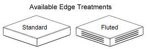 James Edward 2100 Laminate Edge Treatments