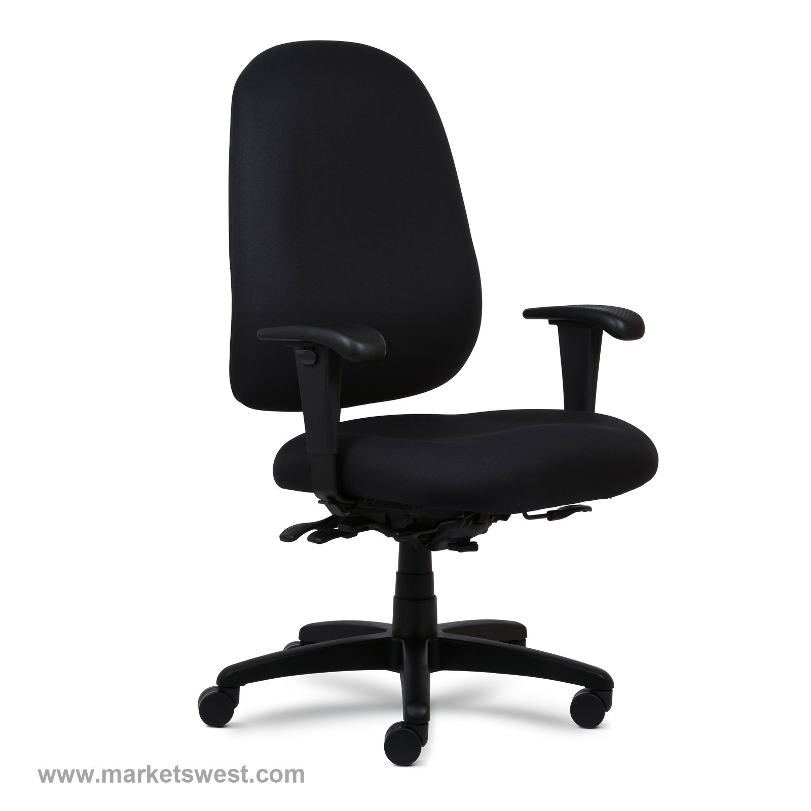 Logic Plus Heavy Duty High Back Desk Task Chair with 500lb Rating