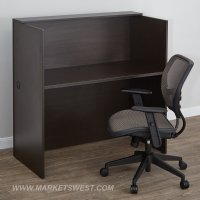 Laminate Telemarketing Station, Espresso or Cherry